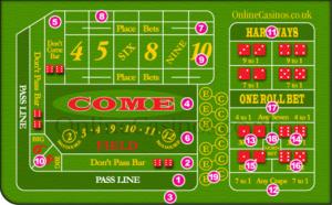 Casinos Dice Rules